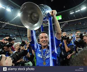 19.05.2012. Munich, Germany. Chelsea's John Terry ...