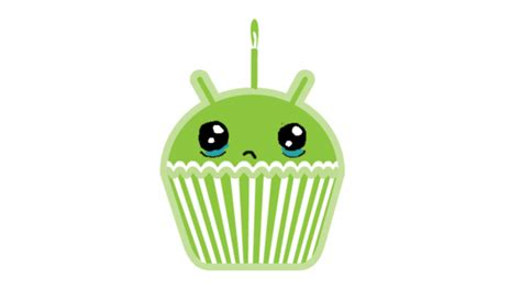 android cupcake for the time cupcake is absent from the