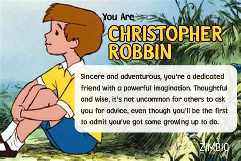 Christopher Robin Meme - christopher robin which winnie the pooh character are you zimbio