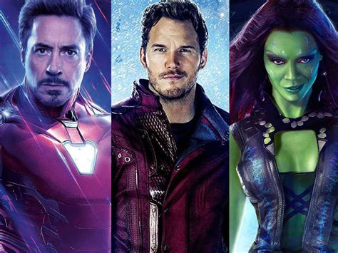 'Avengers' stars Robert Downey Jr, Mark Ruffalo, Zoe ...