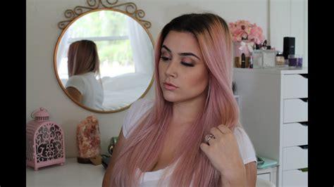 L Oreal Rose Gold Hair Color Reviews
