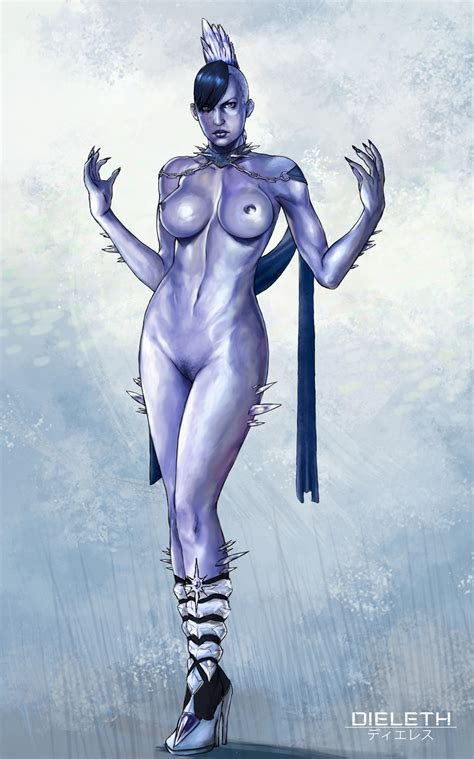 Killer Frost Nude By Dieleth Hentai Foundry