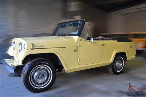 jeep jeepster for sale 1969 jeep jeepster commando convertible restored excellent