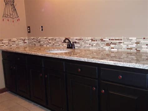 Bathroom Backsplash Tiles : Superb Granite Tile Countertops Decorating Ideas
