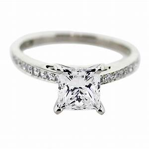 15 carat princess cut diamond engagement ring With princes cut wedding rings