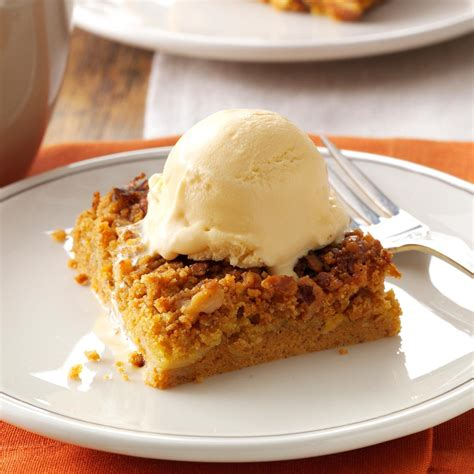 dessert recipes in great pumpkin dessert recipe taste of home