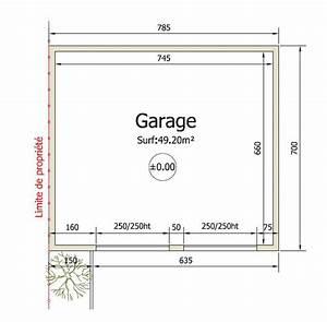 realisation d39un garage realisation des plans de plan b With plan construction garage gratuit