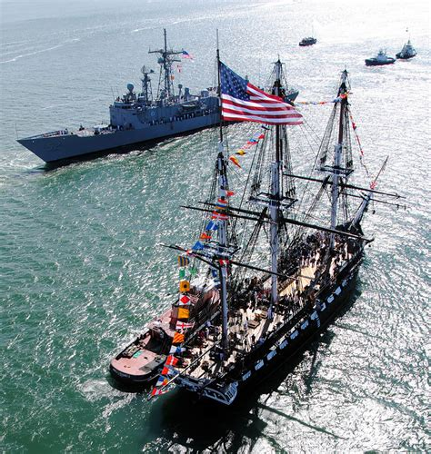 military  uss constitution commemorates battle  midway