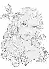 Face Easy Drawing Sketches Drawings Sketch Aphrodite Goddess Outline Greek Coloring Deviantart Simple Cartoon Draw Mythology Drawingpencilwiki Cizimler Sketchite Template sketch template