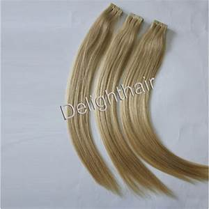 China Double Drawn Real Remy Double Drawn Tape Hair