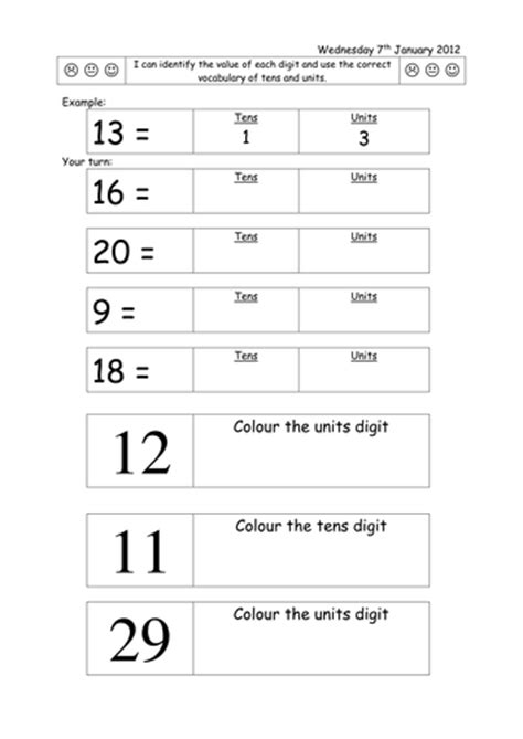 worksheets for partitioning two digit numbers by rubyru22