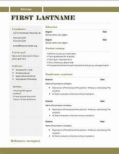 free cv templates 289 to 295 free cv template dot org With free curriculum vitae template