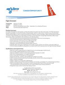 flight attendant objective resume exles 15 flight attendant cv no experience basic appication letter