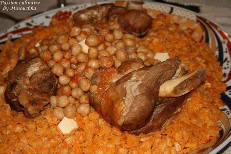 cuisine algeroise traditionnelle t chakhchoukha recette ptitchef