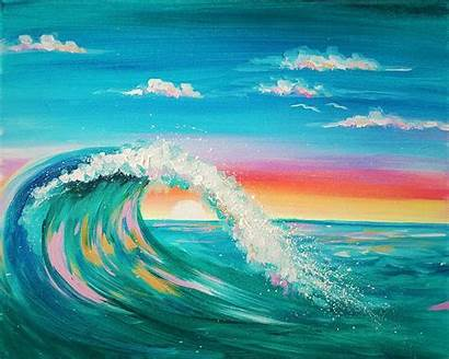 Wave Colorful Waves Virtual Painting Paint Wichita