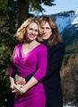 Mr. and Mrs. David Coverdale. . beautiful couple | David ...