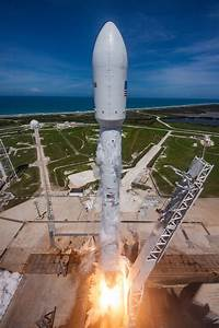 Photos: Flight-Proven Falcon 9 blasts off with Bulgaria's ...