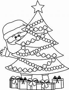 Christmas Tree Black And White Clipart Many Interesting ...