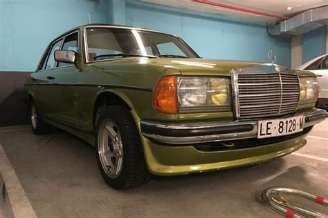 By the time i came in the vehicle i came into was being sold. 1979 Mercedes-Benz E-Class - Vintage car for sale