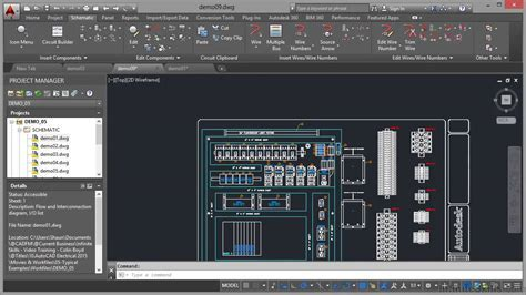AutoCAD Electrical 2015 Tutorial   Panel Drawings   YouTube