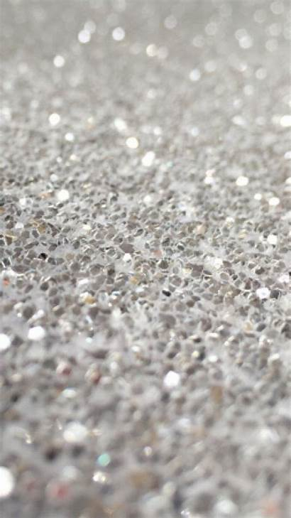 Glitter Silver Iphone Gray Wallpapers Wall Sparkle