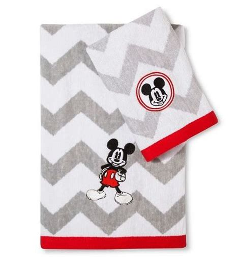 macys mickey mouse bathroom set mickey mouse chevron towel set disney bathroom
