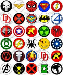 Superhero Logos - Cliparts.co