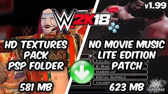 Wwe2k12 and wwe2k13 do not exist for psp!!! WWE 2K18 PSP, Android/PPSSPP Releases - YouTube