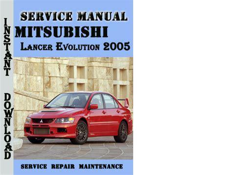 free auto repair manuals 2005 mitsubishi lancer evolution regenerative braking mitsubishi lancer evolution 2005 service repair manual download m