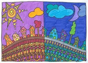 arts visuels couleurs chaudes et couleurs froides With couleur froides et chaudes 3 arbres couleurs chaudes et froides