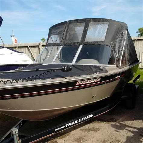 Tracker Boats Dealers Ontario by Tracker Targa 17 Wt 2003 Used Boat For Sale In