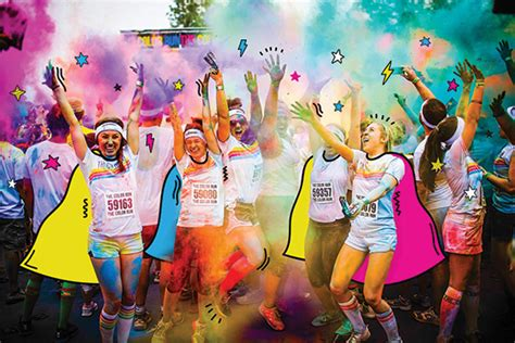 The Color Run 5k  Urban Life Wash Park