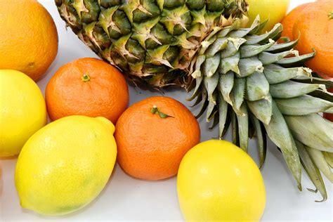รูปภาพฟรี: มะนาว, ส้ม, อาหาร, ผลไม้, สีส้ม, สับปะรด ...
