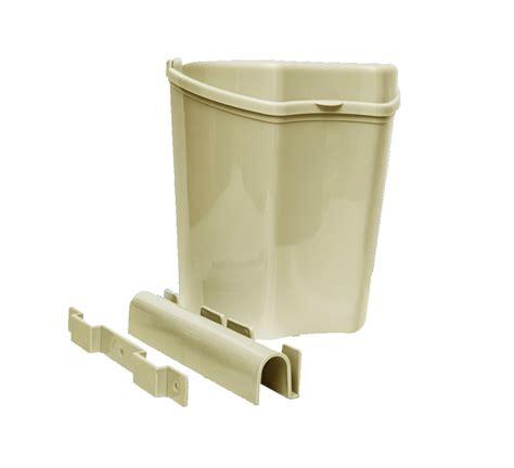 Cupboard Waste Bin by Caravan Motorhome Plastic Removable Cupboard Door Waste Bin