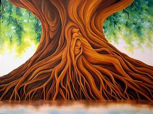 Dawn Waters Baker: Tree of Life Painting Sold