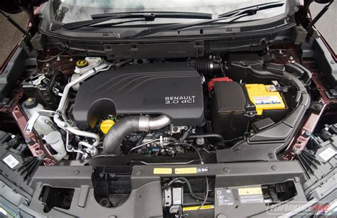 Renault Diesel Engine by 2017 Renault Koleos Diesel Review Performancedrive
