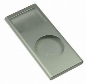 iPod Nano 2nd Gen Shell Case Silver