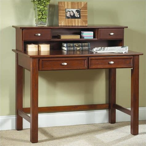 small student desk with hutch furniture hanover wood student writing desk with hutch in