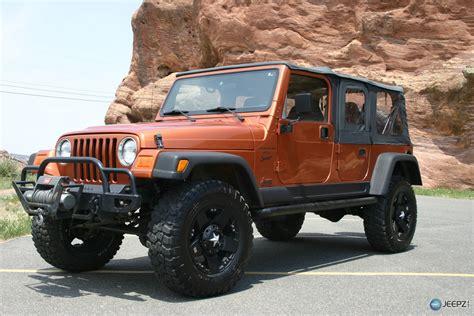 four door jeep 2001 4 door 3rd row tj on ebay