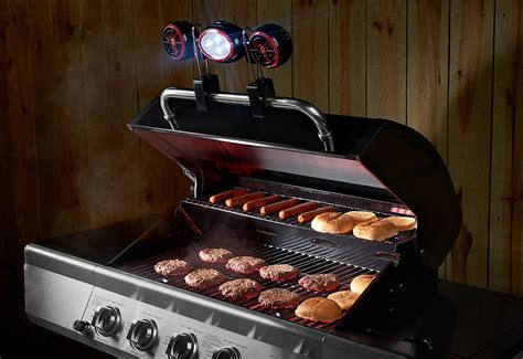 Bbq Grill Light And Fan Sharper Image