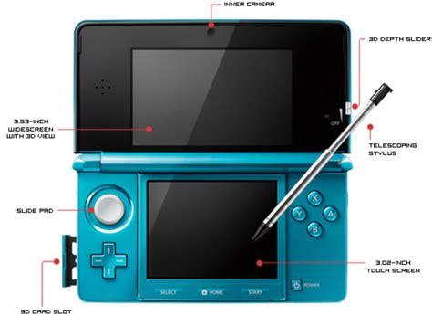 Nintendo Dsi Versus 3ds Comparison