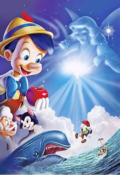 Pinocchio Disney Characters Walt Posters Movies Jiminy