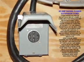 50amp Shore Power Cord Repair  Replacement