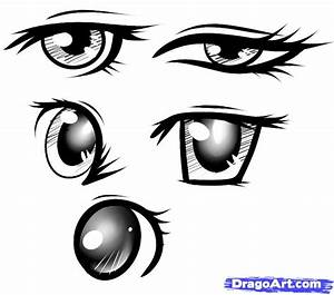 Feed Pictures - Anime Eyes Female Happy Anime Eyes Drawing