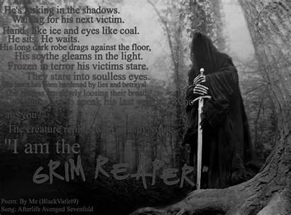 Reaper Grim Quotes Death Dark Am Fanpop