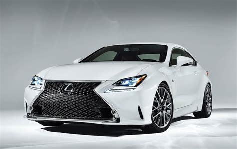 sporty lexus sedan 2015 lexus rc 350 f sport revealed with wild gt3 concept