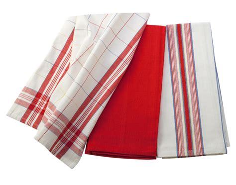 Le Creuset Kitchen Towel Set, 3piece Cherry Red