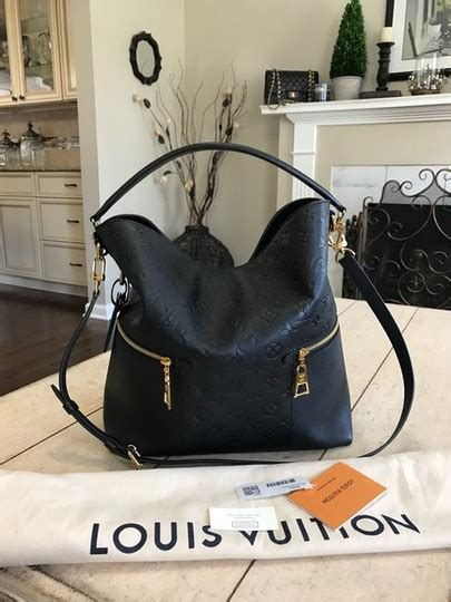 louis vuitton shoulder crossbody  release stunning melie dustbag tags black noir monogram