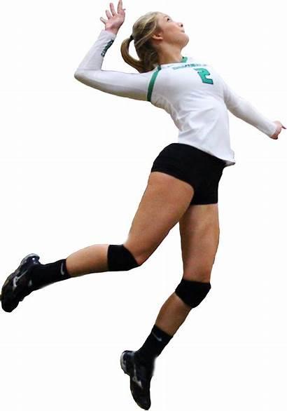 Volleyball Player Transparent Clipart Voleibol Athlete Purepng
