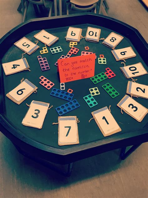 Match The Numicon To The Number Bag And Pop It Inside  Numicon In 2018  Pinterest Eyfs
